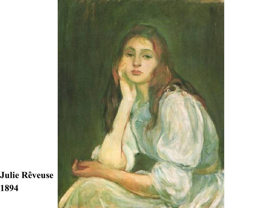 Julie Manet et son Lévrier Laerte 1893