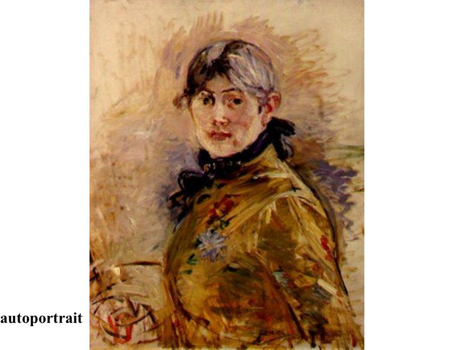 Berthe Morisot (14 janvier 1841- 2 Mars 1895) était une artiste peintre française liée au mouvement impressionniste. Née à Bourges, elle était l' arri
