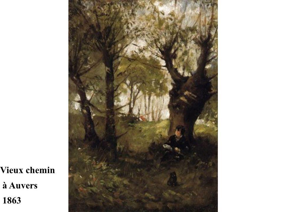 Dés 1861, Berthe et Edma étudient auprès de Jean-Baptiste Corot à ville-d'Avray. Berthe Morisot participe au salon de 1864, puis à celui de 1865 où el