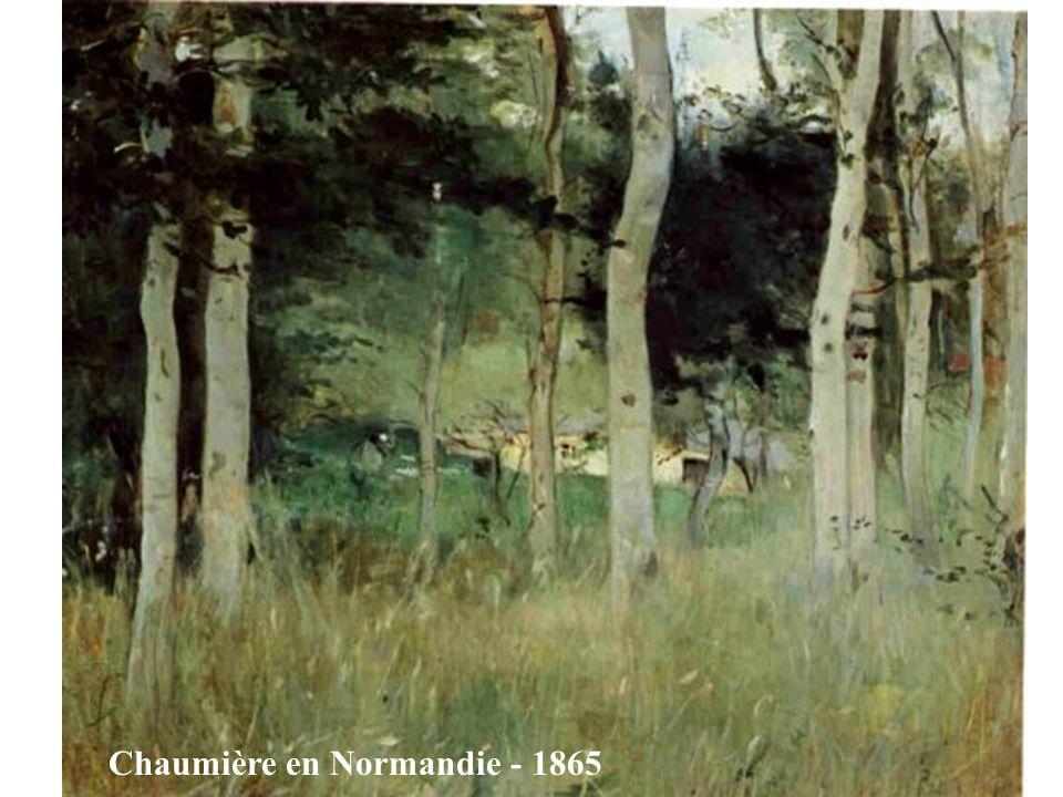 Vieux chemin à Auvers 1863