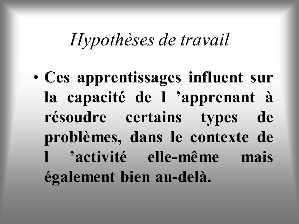 Hypothèses de travail Lenseignement de l Aikidô initie des apprentissages spécifiques qui ne concernent pas seulement la pratique martiale.