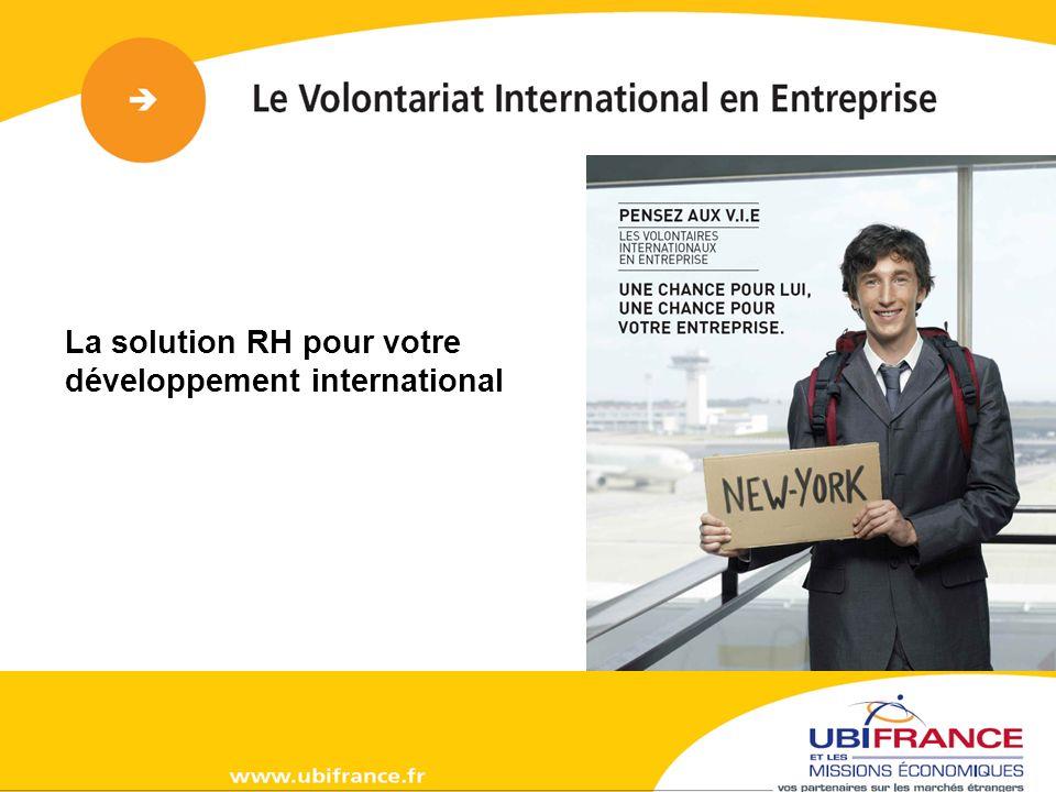 19 641 jeunes ont été affectés depuis le début de la formule V.I.E (2001) pour le compte de 2 560 entreprises.