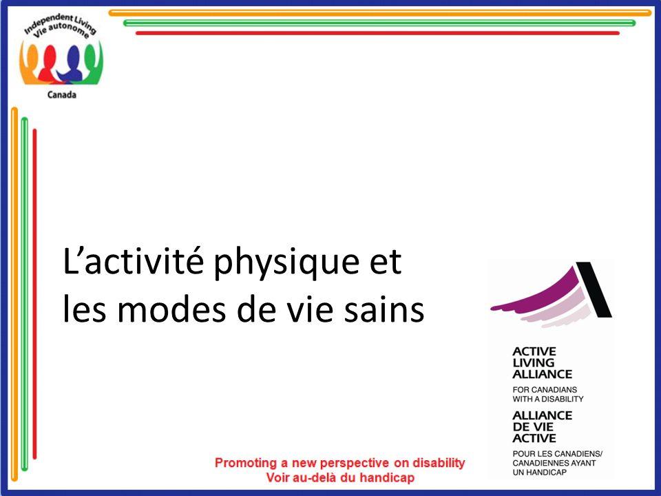 Lactivité physique et les modes de vie sains