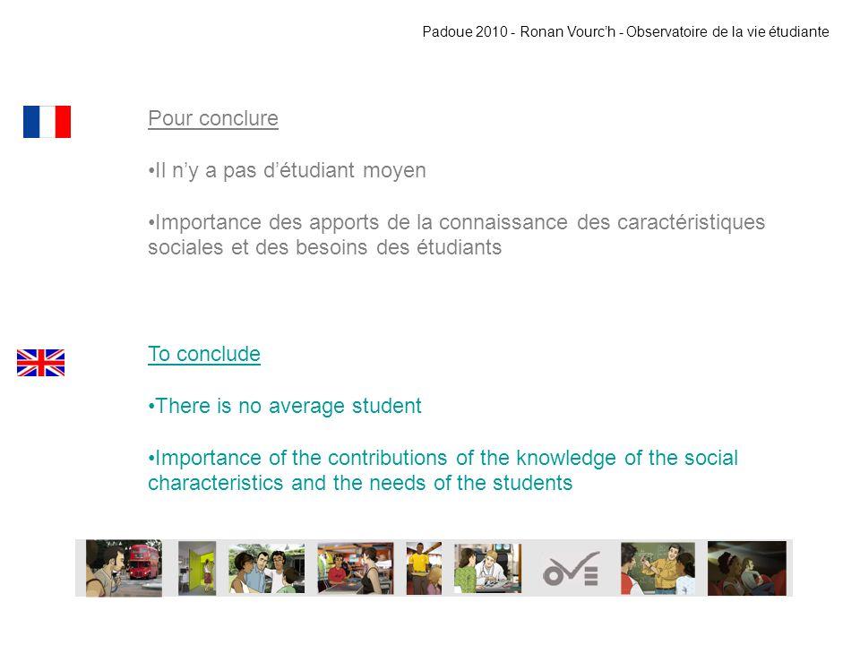 MERCI THANK YOU Padoue 2010 - Ronan Vourch - Observatoire de la vie étudiante