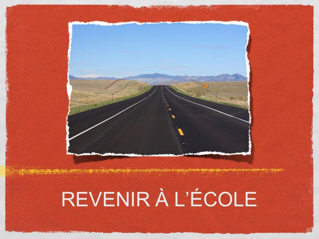 REVENIR À LÉCOLE