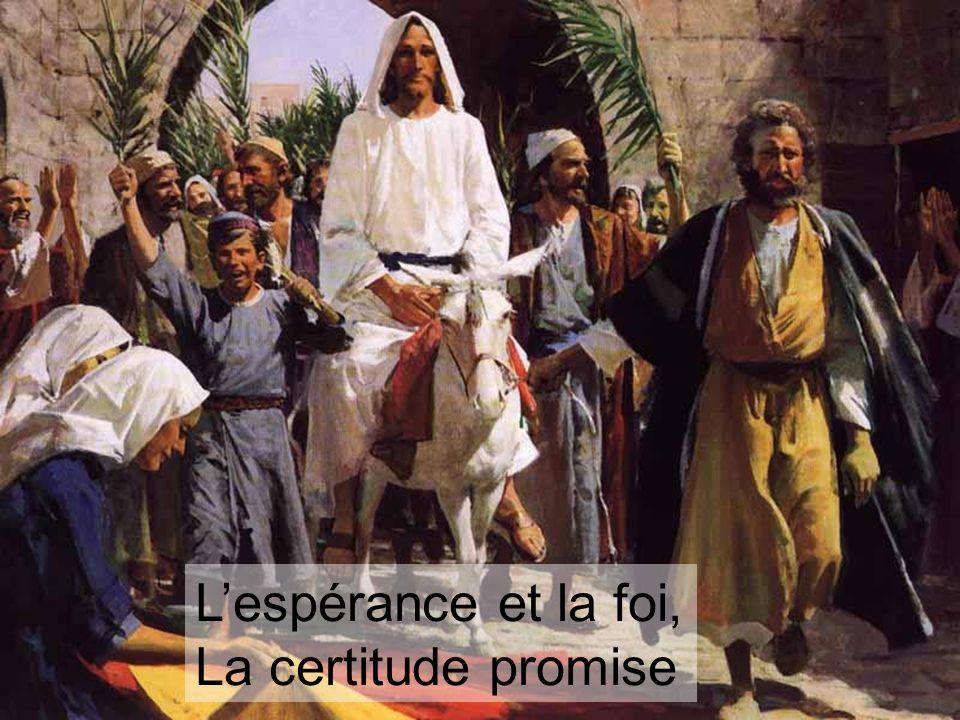 Pour réchauffer le cœur, les promesses de Jésus