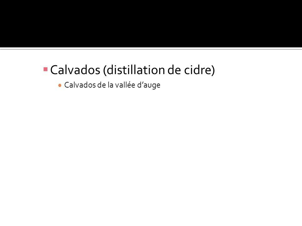 Calvados de la vallée dauge