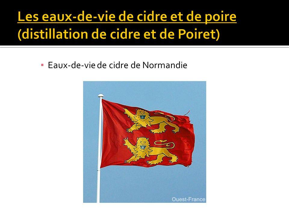 Eaux-de-vie de cidre de Normandie