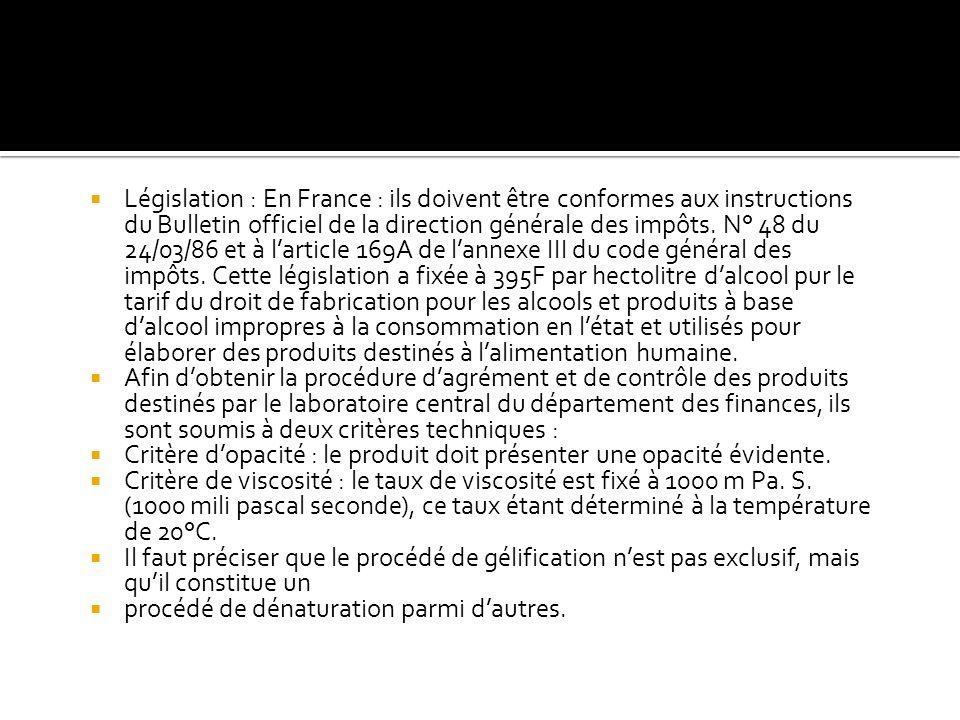 Législation : En France : ils doivent être conformes aux instructions du Bulletin officiel de la direction générale des impôts. N° 48 du 24/03/86 et à