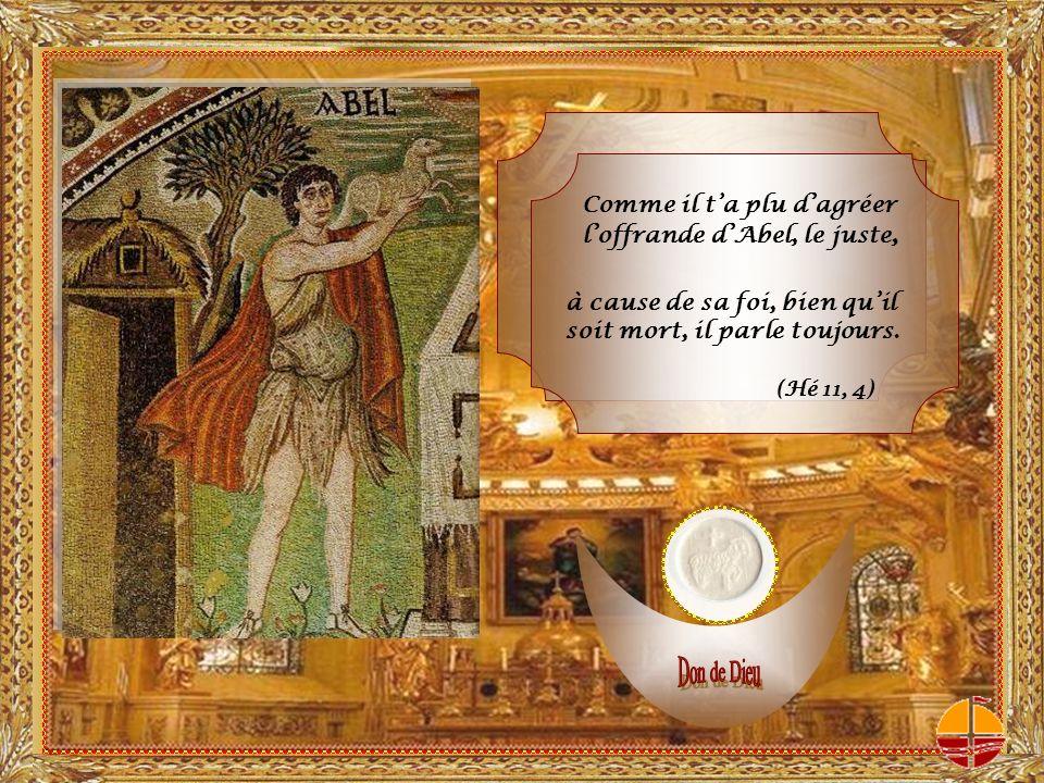 LEucharistie scelle la longue histoire dalliance entre Dieu et son peuple.