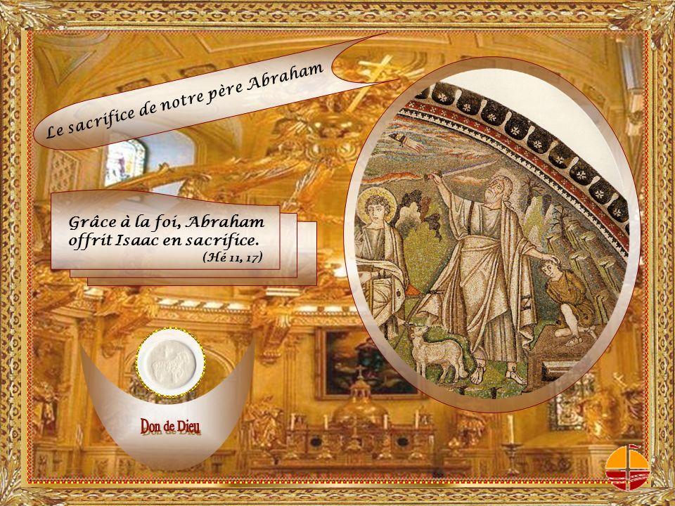 Comme il ta plu dagréer loffrande dAbel, le juste, à cause de sa foi, bien quil soit mort, il parle toujours.