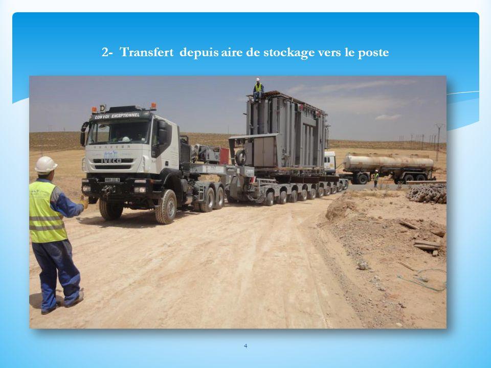 5 3- Mise transformateur sur la voie lourde