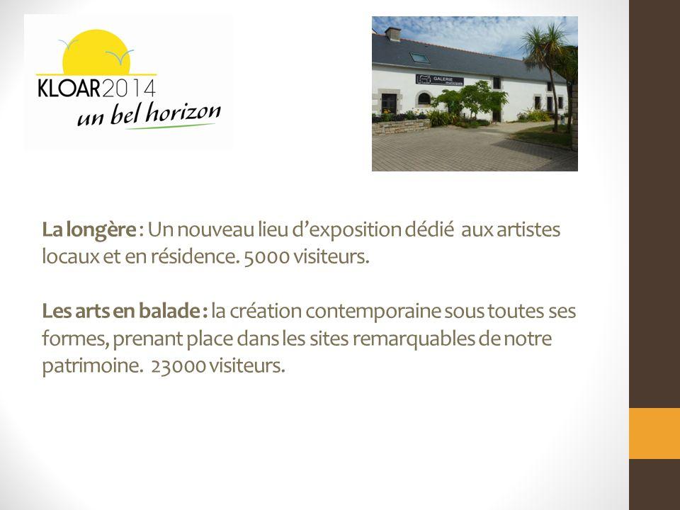 La longère : Un nouveau lieu dexposition dédié aux artistes locaux et en résidence.