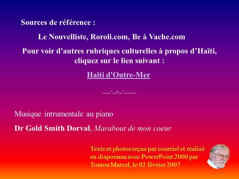 Stations balnéaires Haïti compte 1,535 km de côtes et de splendides stations balnéaires : - Labadie au Cap-Haïtien - Chouchou Bay au Borgne - La Côte