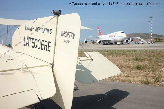 A Tanger, rencontre avec le 747 des pèlerins de La Mecque