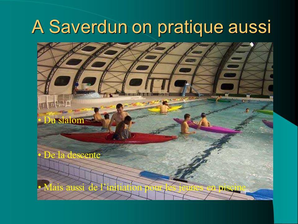 Le club de kayak de Saverdun vous remercie de votre attention Réalisation : les adhérents du CKS