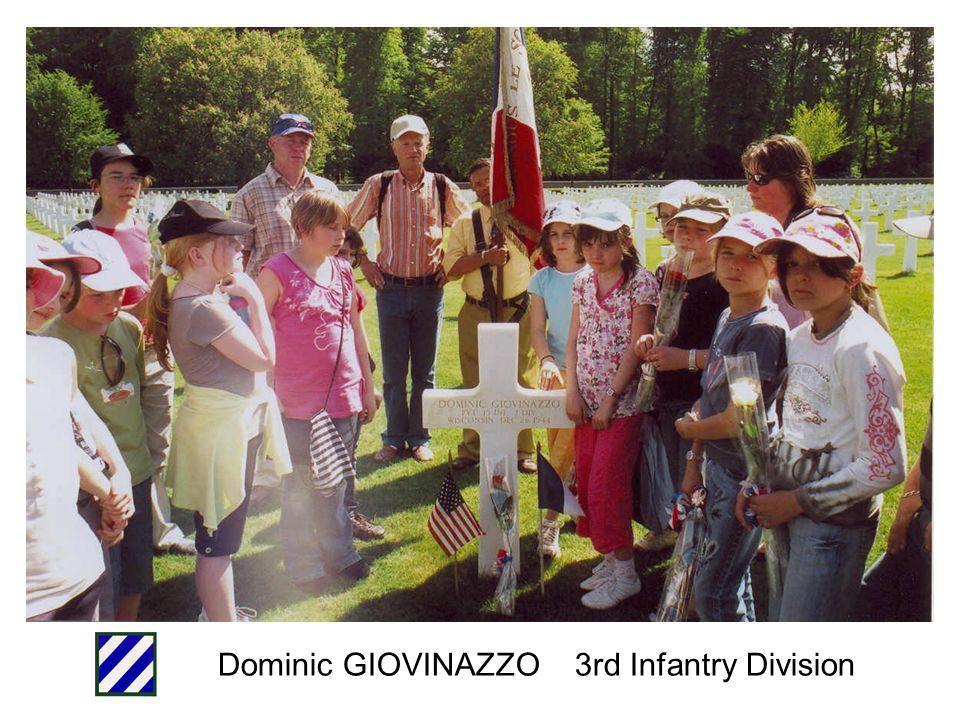 Frank TAVERNI 3rd Infantry Division