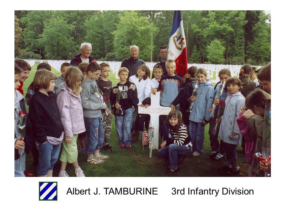 Stanley C. BANEK 3rd Infantry Division