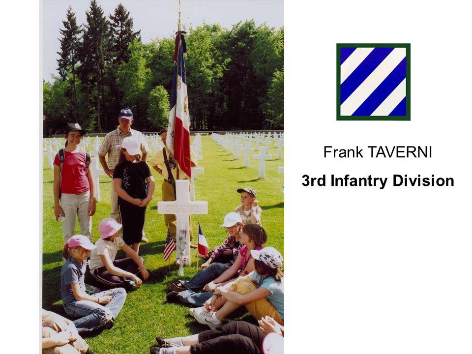 Frank STREHLE 3rd Infantry Division