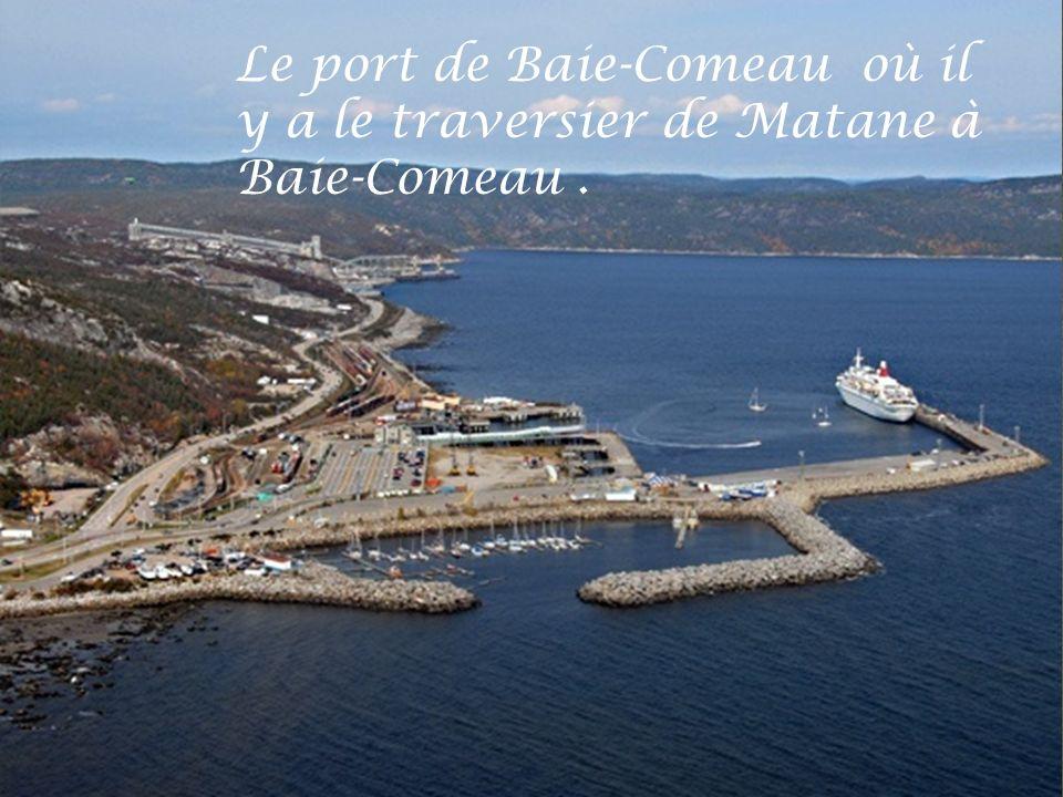 Centre-ville de Baie-Comeau.