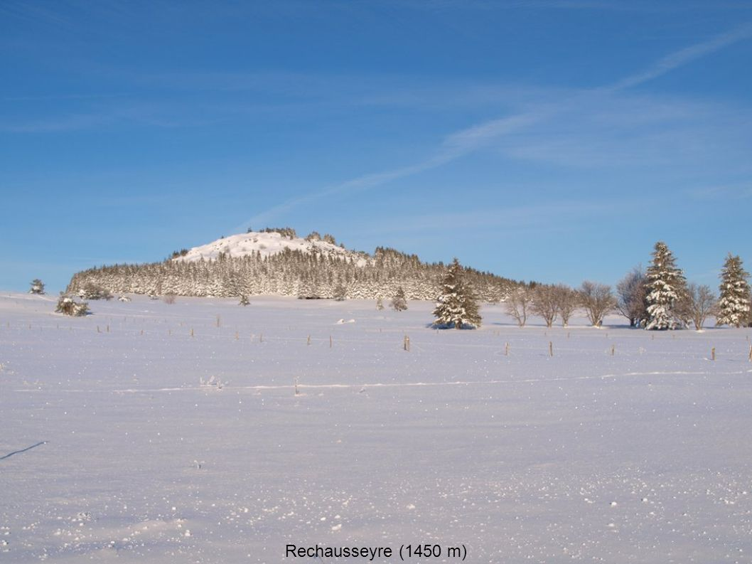 Rechausseyre (1450 m)