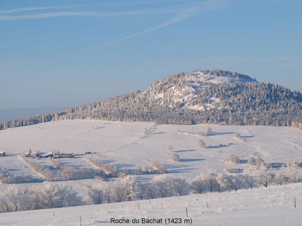 Roche du Bachat (1423 m)