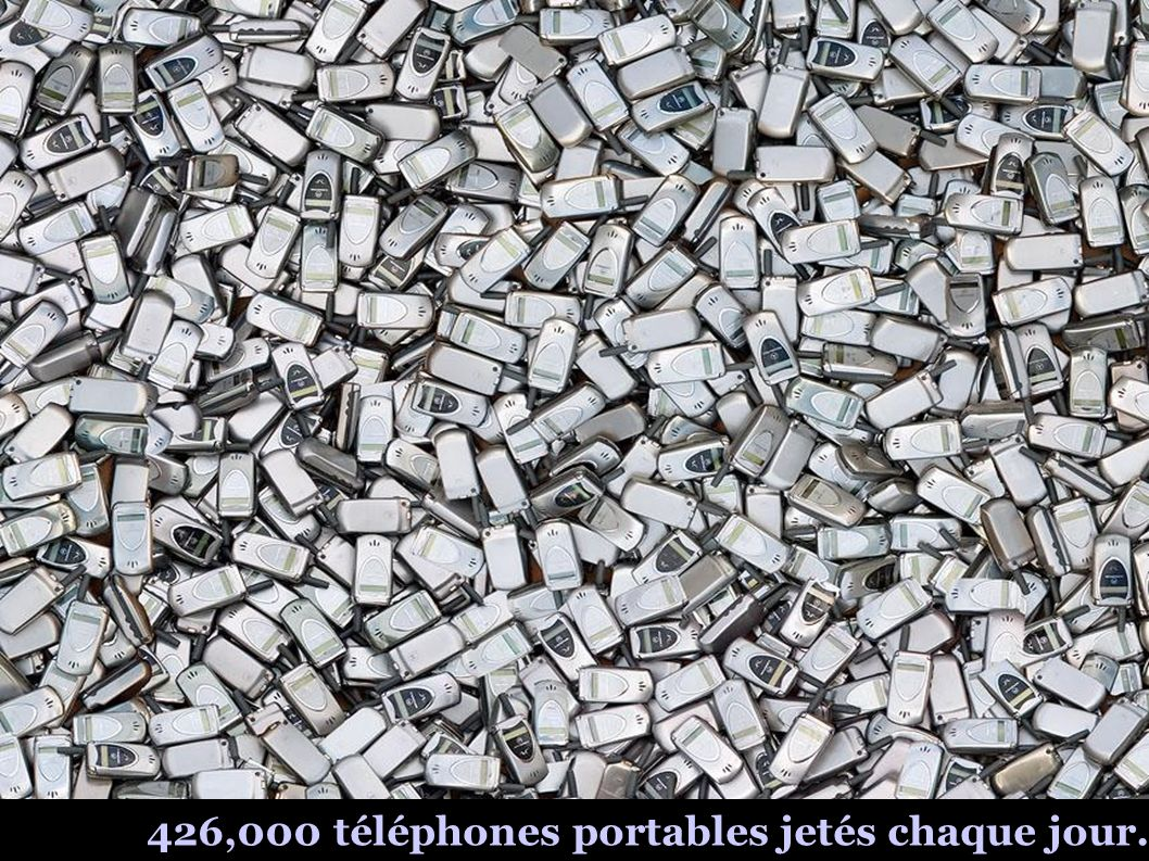 2 millions de bouteilles en plastique, objet d un dumping toutes les 5 minutes.