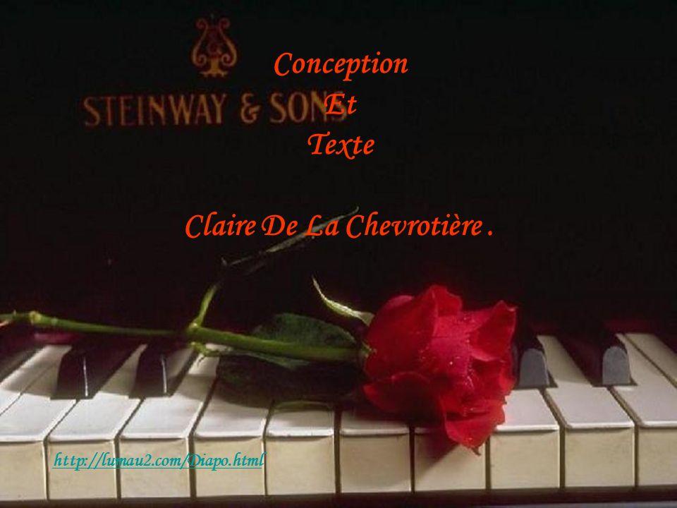 Conception Et Texte Claire De La Chevrotière. http://lumau2.com/Diapo.html