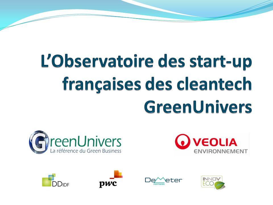 Profil type du fondateur : un ingénieur de moins de 45 ans Source : Observatoire des start-up des cleantech GreenUnivers