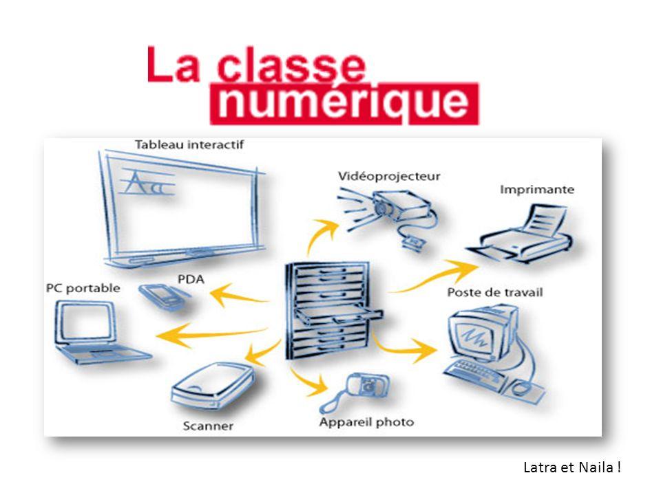 Etre dans la classe numérique nous permet de travailler davantage avec des outils informatiques en cours mais aussi chez soi.