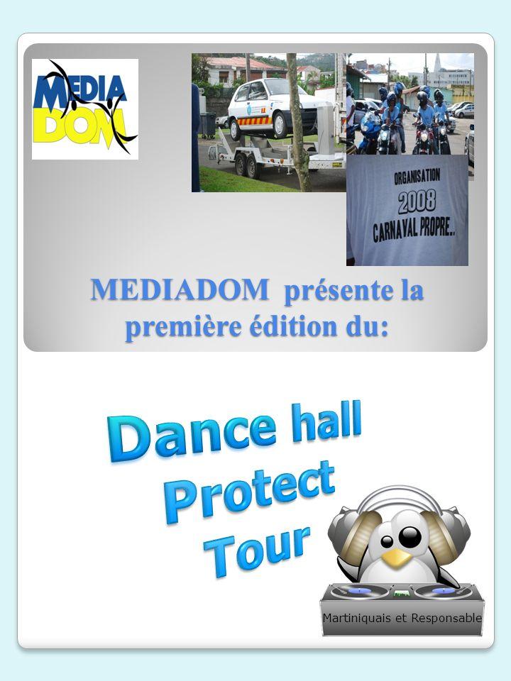 MEDIADOM présente la première édition du: MEDIADOM présente la première édition du: Martiniquais et Respon s able