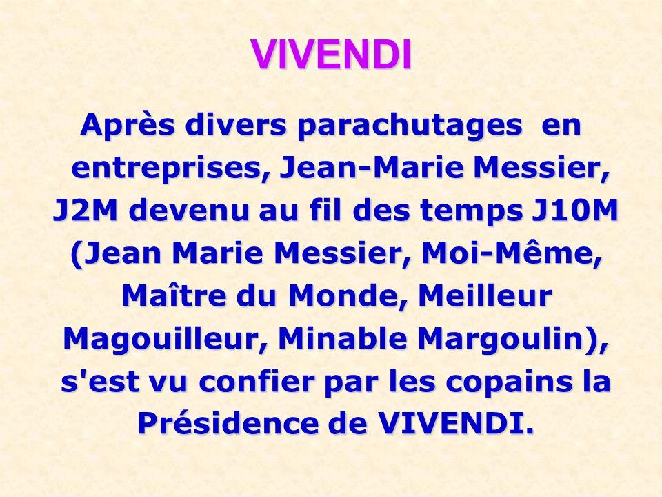 Il ne faut pas oublier de préciser qu'après son licenciement du qu'après son licenciement du Crédit Lyonnais, il fut nommé par le gouvernement : Prési