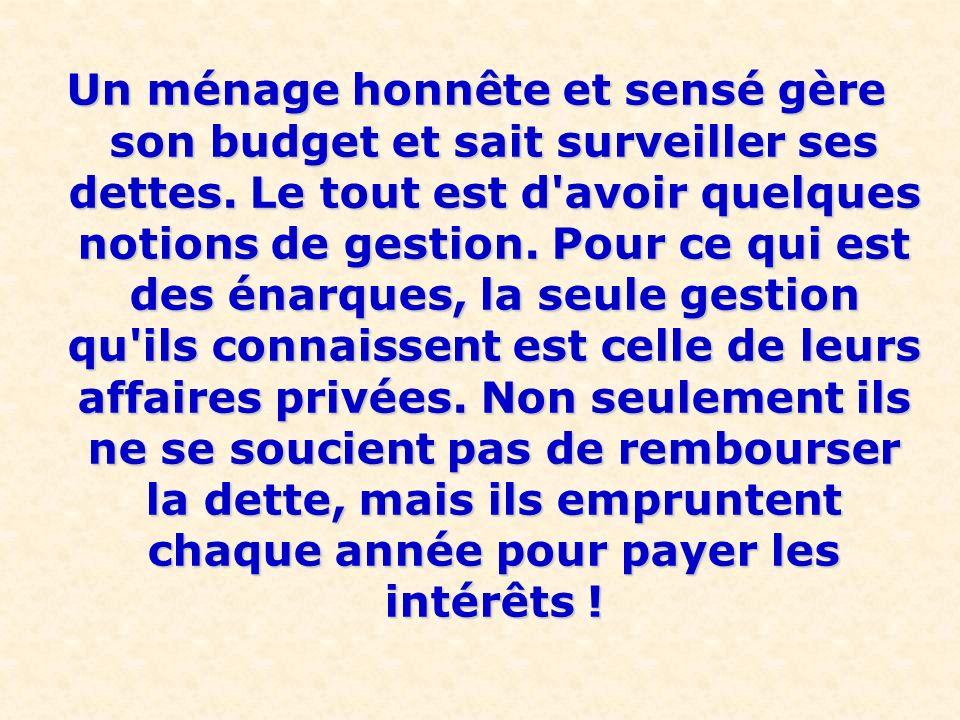 C'est ainsi que petit à petit, la France est devenue un pays sous- France est devenue un pays sous- développé. Pour compenser toutes les richesses vol