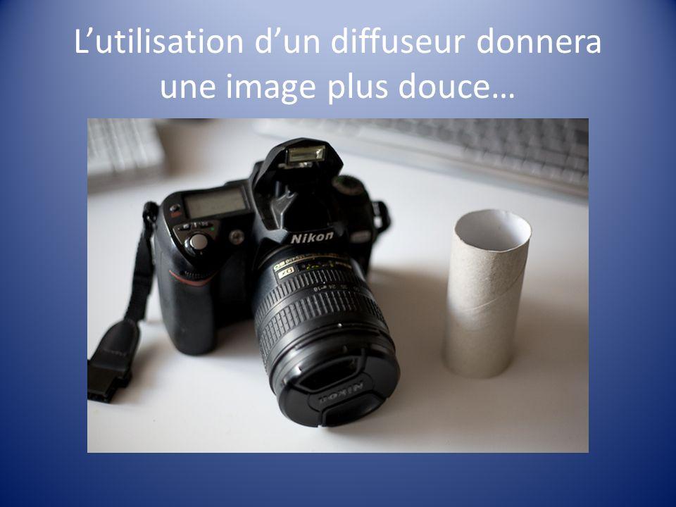 Lutilisation dun diffuseur donnera une image plus douce…