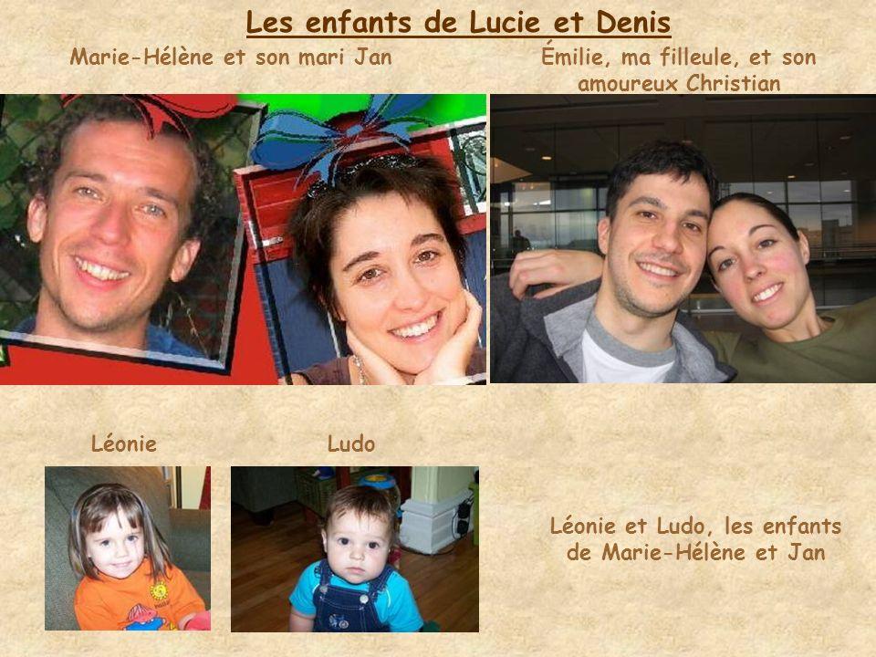 Ma sœur cadette, Lucie (Luce) Denis, son mari