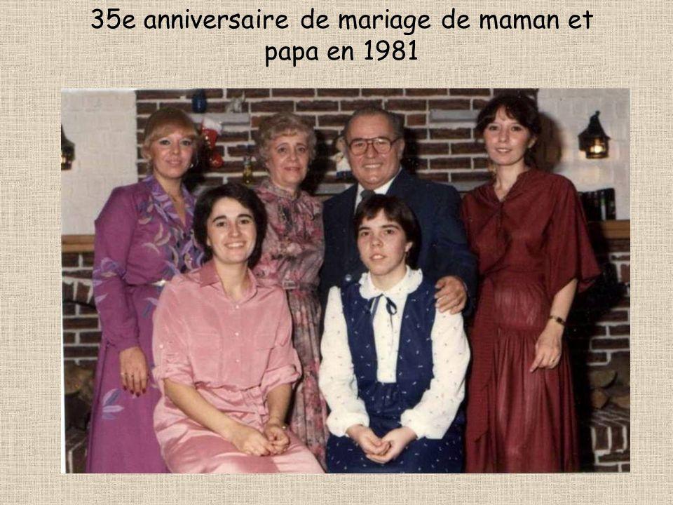 Photo de famille prise à mon anniversaire en 2004