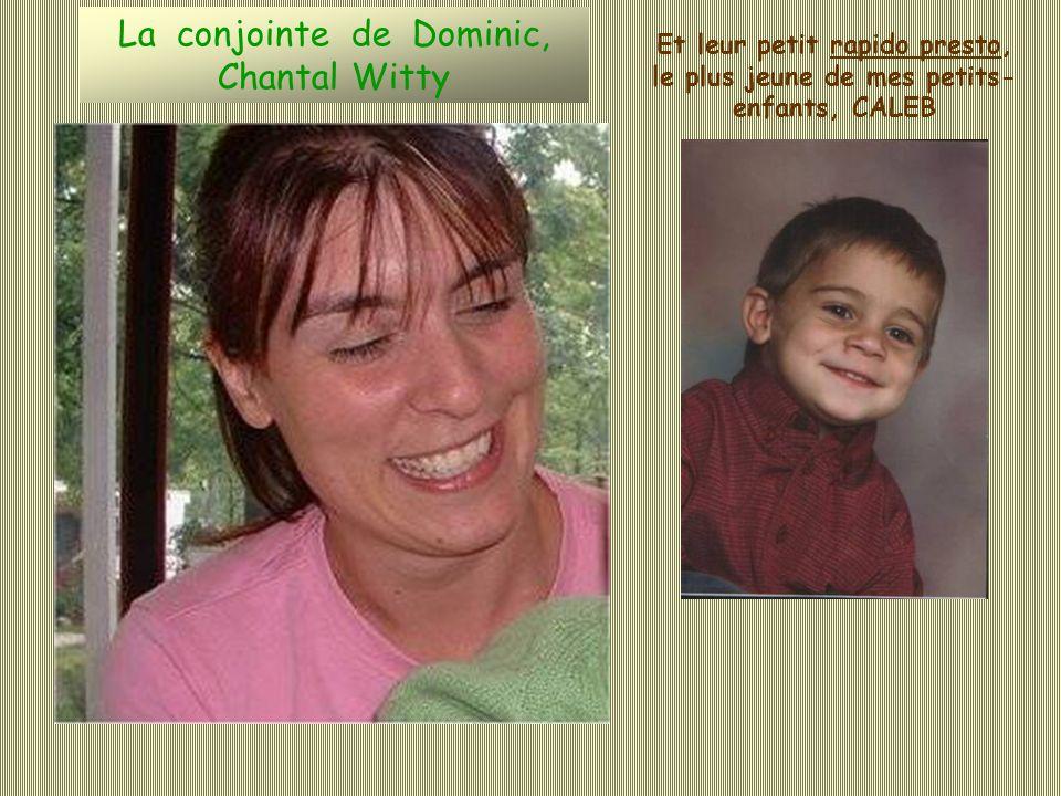 Les enfants de la première union de Dominic, laînée de mes petits-enfants la jolie Yanka et le charmant Alex Alex Yanka