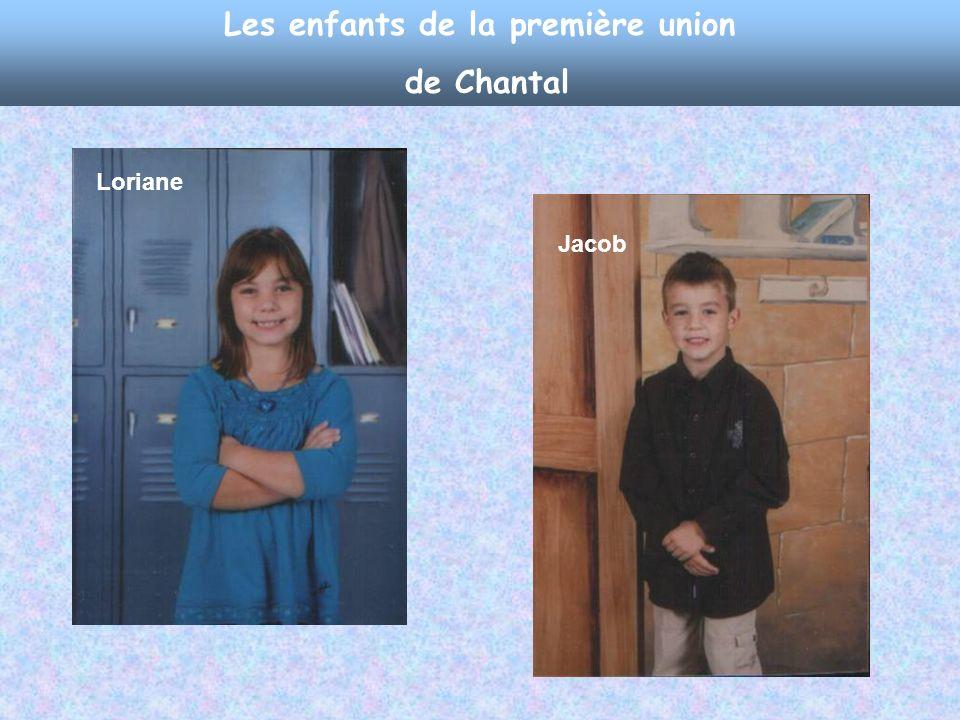 La conjointe de Dominic, Chantal Witty Et leur petit rapido presto, le plus jeune de mes petits- enfants, CALEB