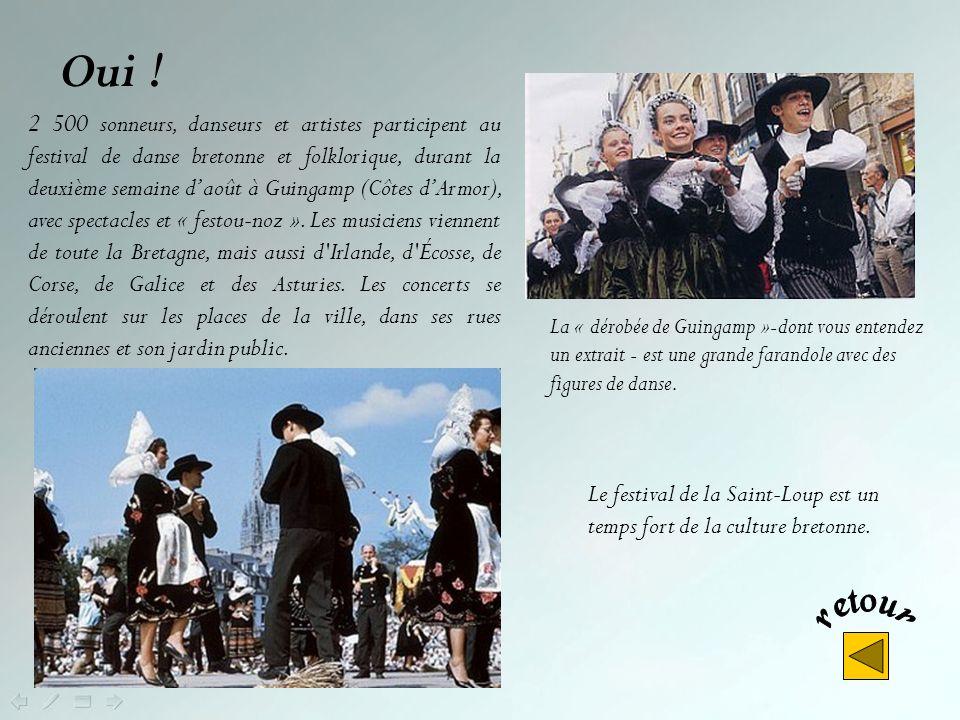 Non ! A Lorient, cest le festival interceltique, consacré aux musiques et aux cultures celtes, qui réunit tous les ans durant la première semaine du m