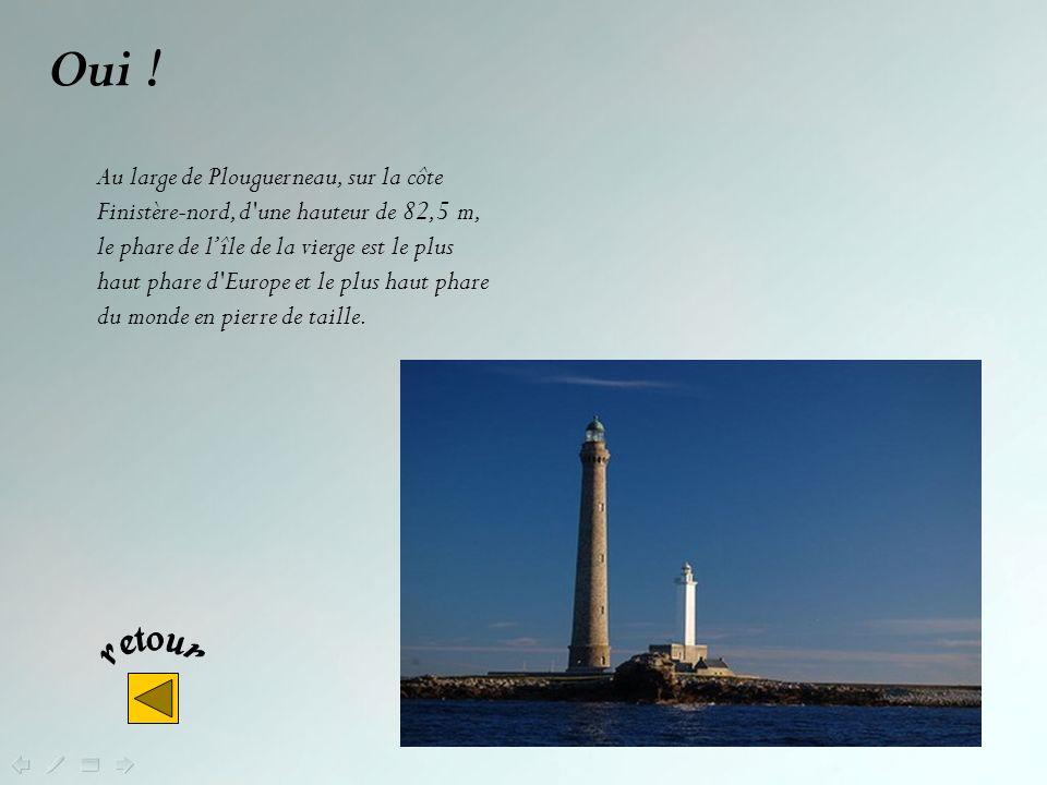 Non ! Le phare d'Ar-Men (le rocher ou encore la pierre en breton), à l'extrémité de la Chaussée de Sein, à la pointe ouest de la Bretagne, porte le no