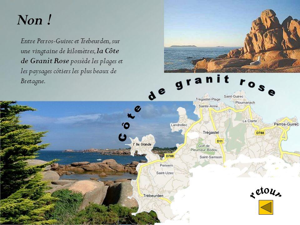 Non ! Entre Saint-Brieuc et Paimpol la côte du Goëlo. sauvage et pittoresque, est faite de contrastes. Les longues plages de sable fin alternent avec