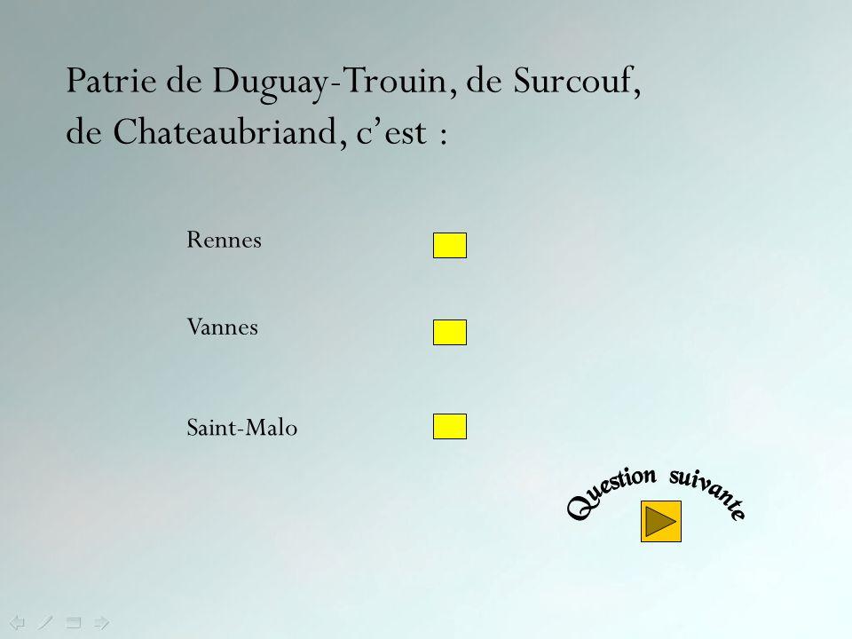 Oui ! Le Château des Ducs de Bretagne, résidence principale des ducs de Bretagne du XIIIe au XVe siècle, classé monument historique, est l'un des élém