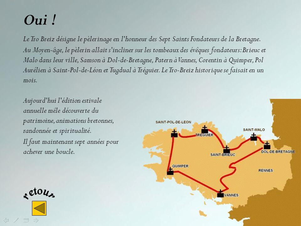 Le « Tro Breiz » cest : Un pélerinage Le circuit de la Duchesse Anne Une course cycliste