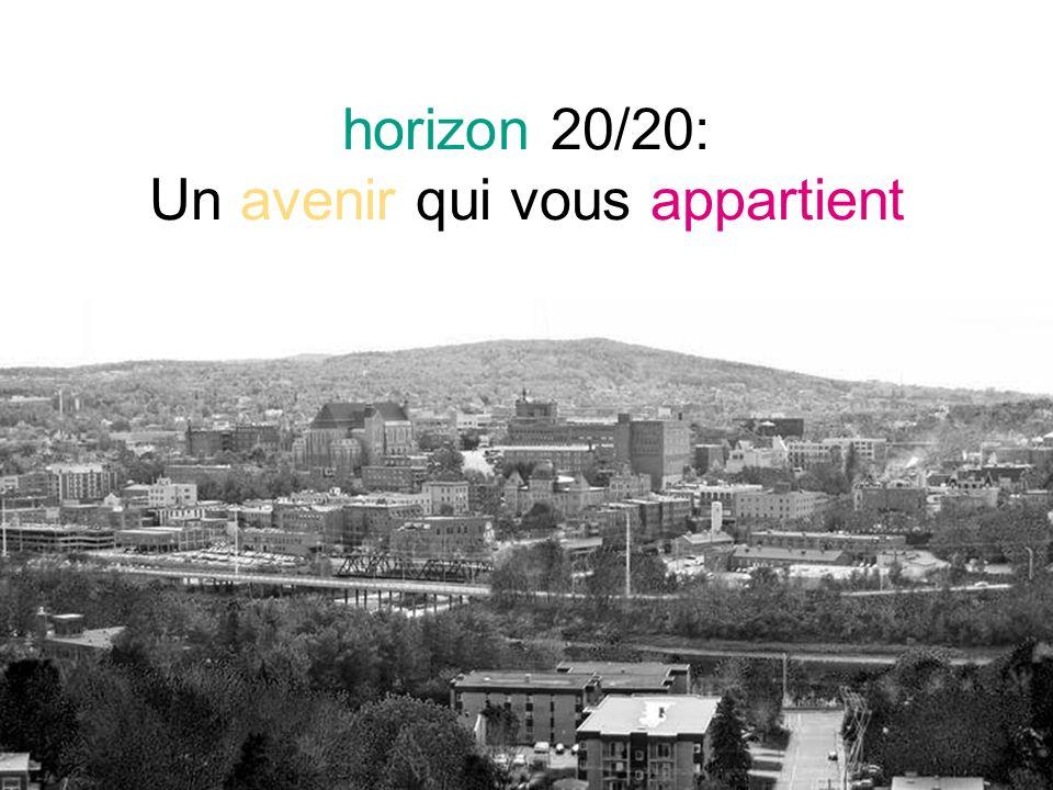horizon 20/20: Un avenir qui vous appartient