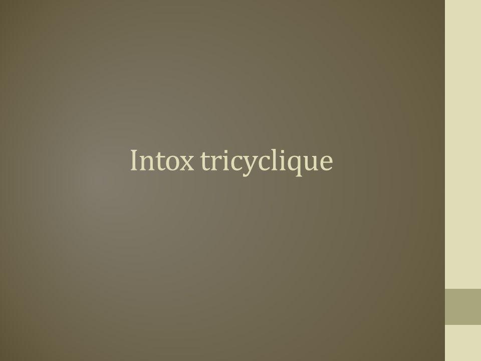 Intox tricyclique