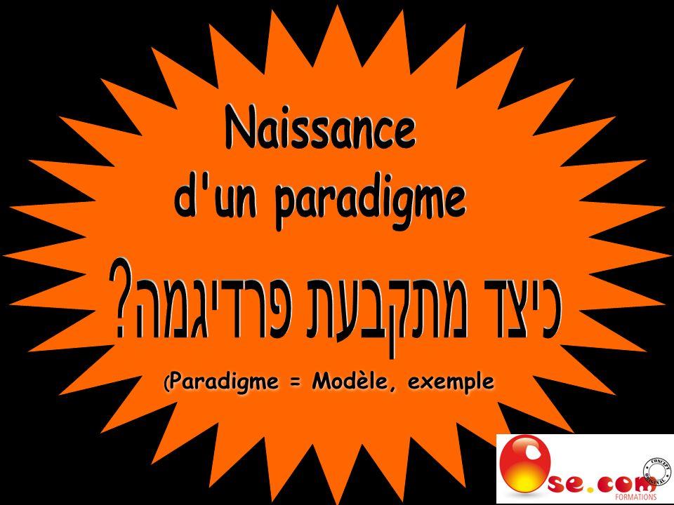 ( Paradigme = Modèle, exemple