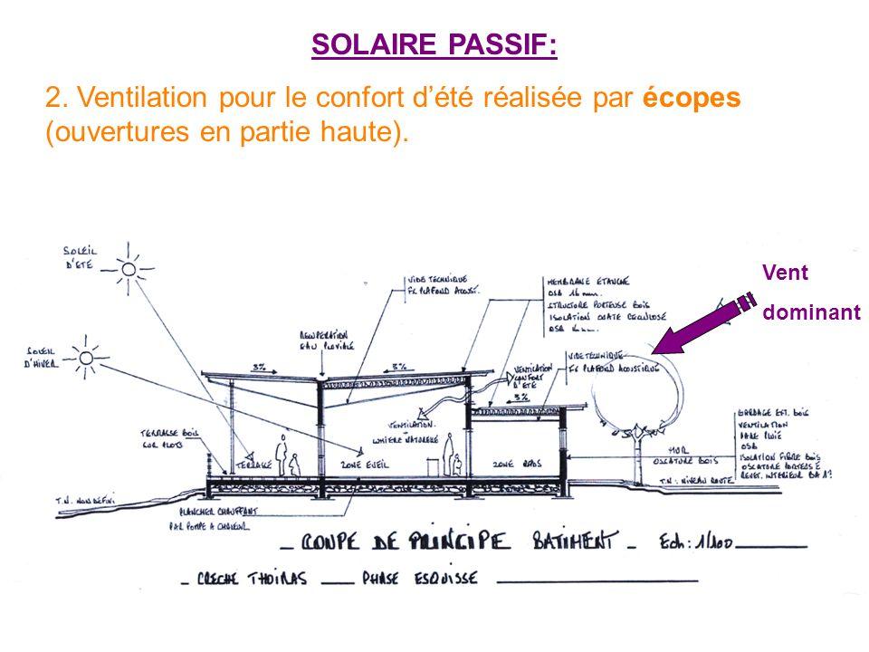 PRINCIPAUX CHOIX ÉCO-CONSTRUCTIF: - Ossature et bardage bois,