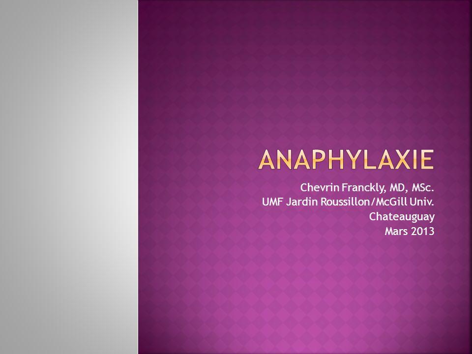 Traitement Stéroïdes à utiliser dans tous les d anaphylaxie) pour contrôler les réactions retardées et persistantes… Si cas sévère: méthyl-prednisolone (Solu-Medrol) 125mg IV (dose pédiatrique 2mg/kilo).
