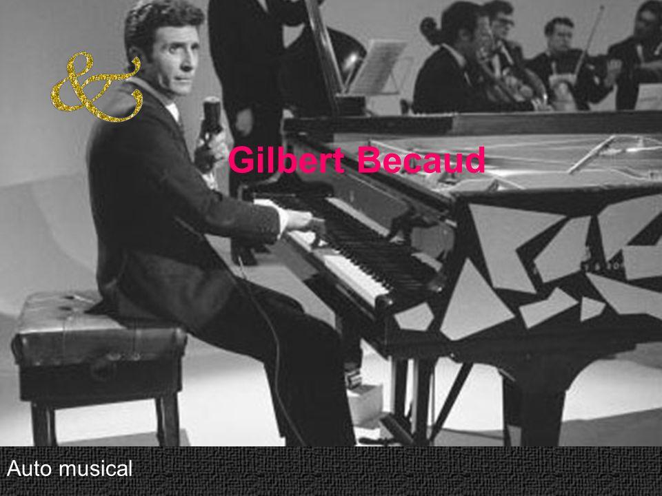 Gilbert Becaud Auto musical