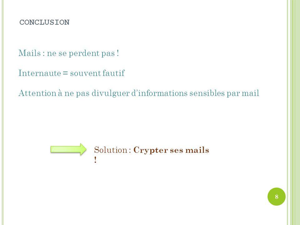 III- L A DISPARITION D UN E - MAIL A ) S ERVEURS SURCHARGÉS B ) V ÉRIFICATION Il arrive parfois que trop de mails soient envoyés en même temps le serv